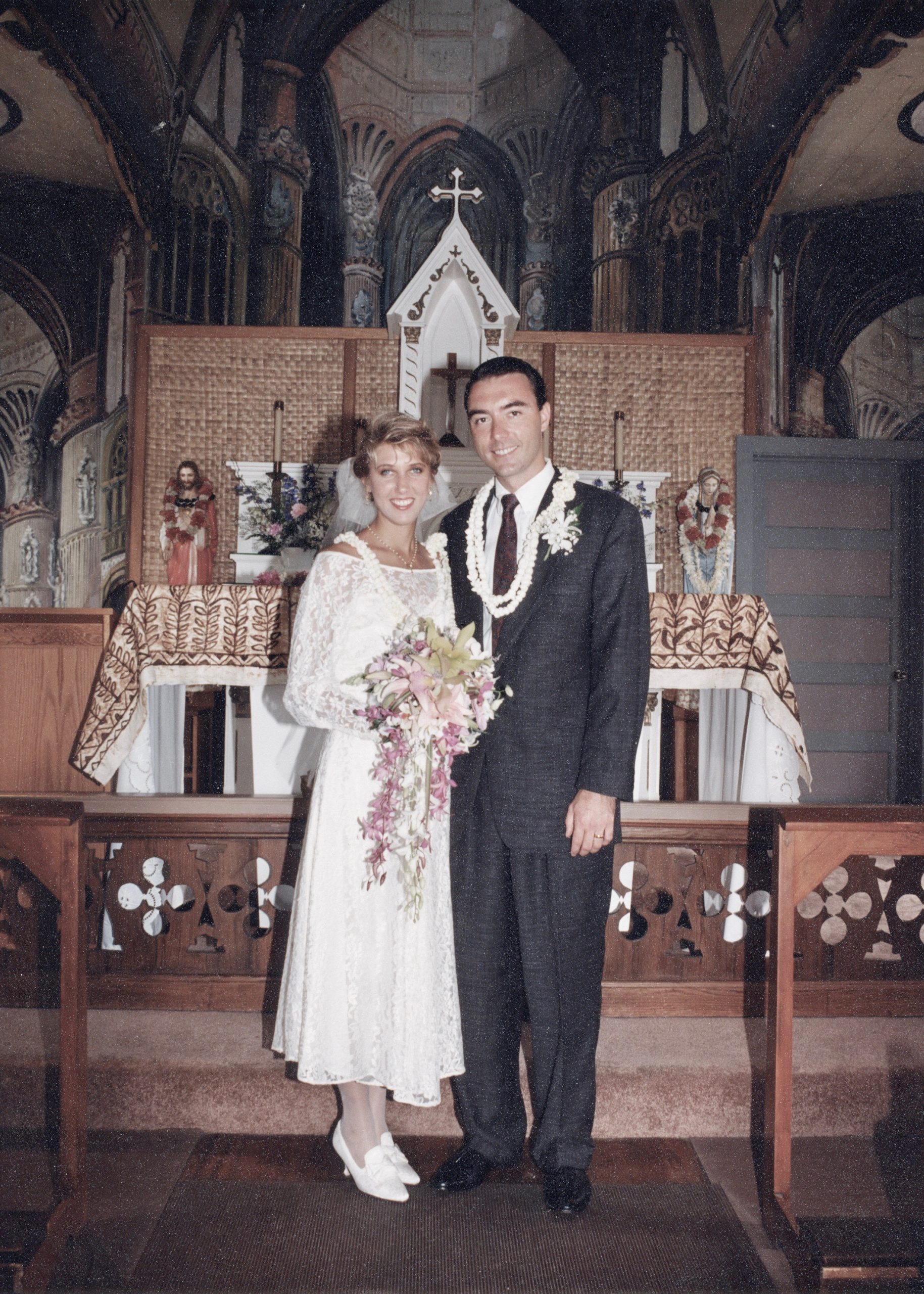 At the alter, 1994.