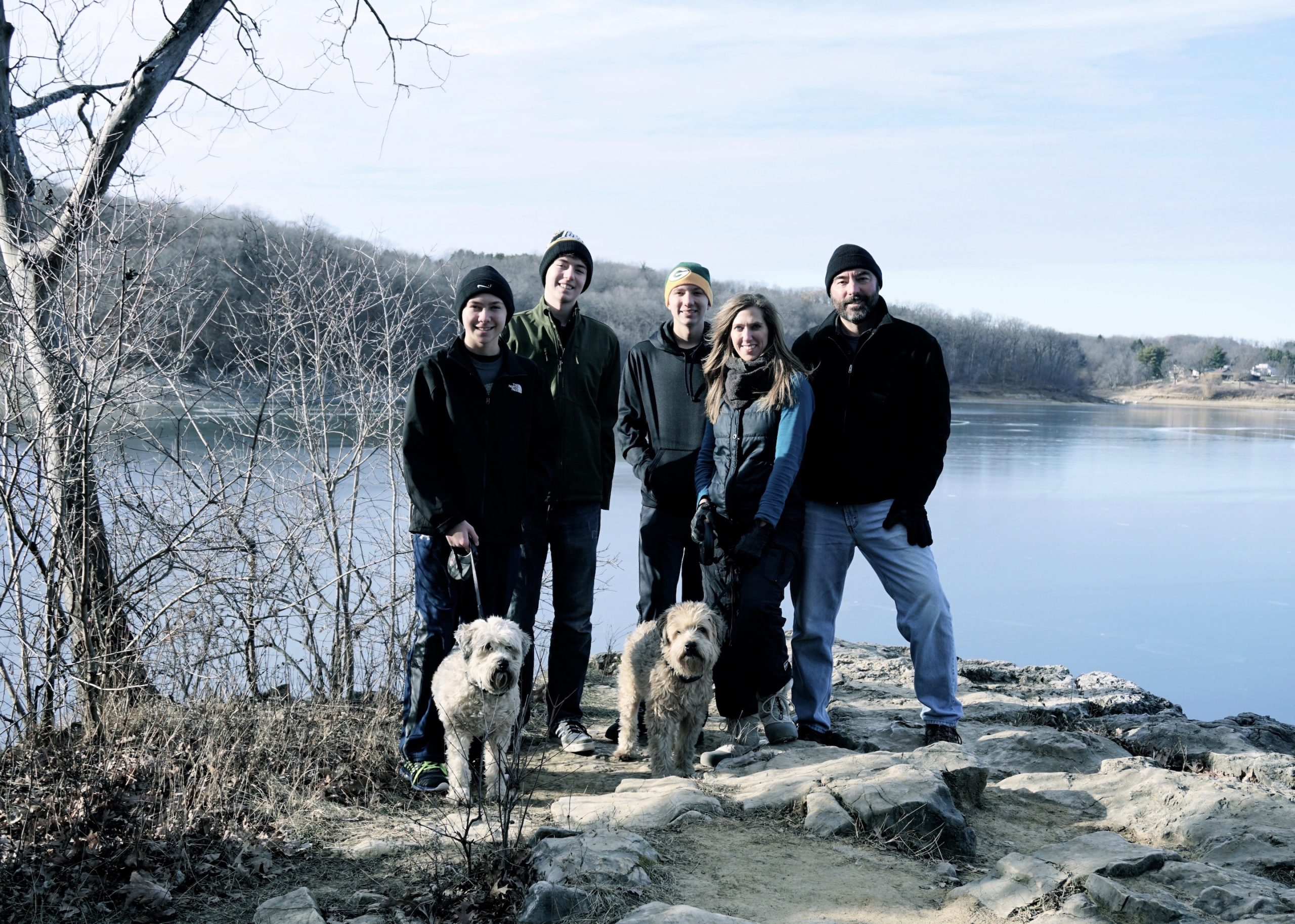 At the Coralville Reservoir, 2015.